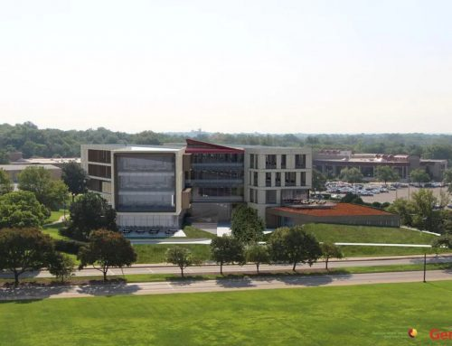 The Kansas Unversity School of Business Educates Students, Community on Green Roof Benefits