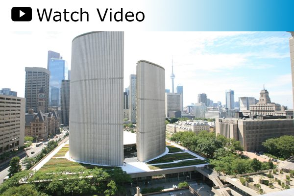 Nathan Phillips Square Toronto City Hall - Project of the Week 8/25/14
