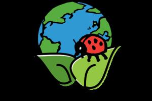 The Hortech Grown Earth Friendly logo.