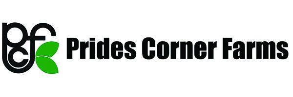 Prides Corner Farms logo.