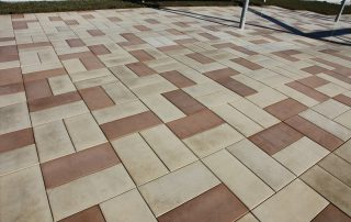 Patterned RoofStone pavers on Eastern Lofts green roof