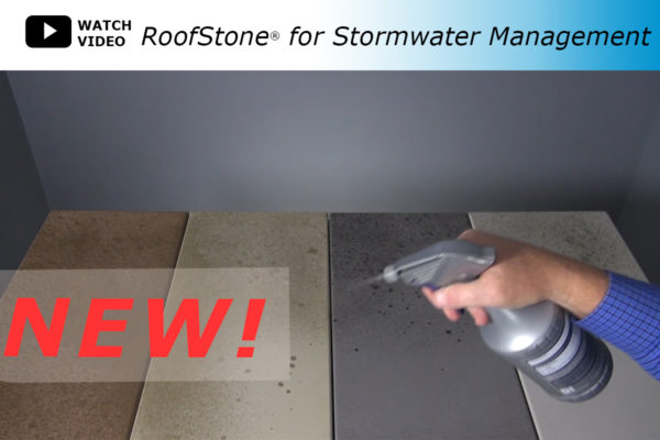 Video showing how RoofStone Pavers can aid in stormwater management.